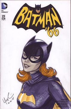 keaneoncomics:  Batgirl '66 Commission by Protokitty