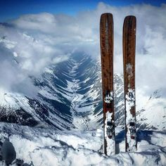 While we're patiently waiting for spring in the east, skiing is still an option in the west! Thank you for this great photo! Great Photos, Mount Rainier, Austria, Skiing, Patiently Waiting, Snow, Mountains, Sports, Travel