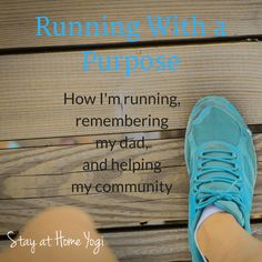 running with a purpose and remembering my dad My Community, Stay At Home, Mom Blogs, Fitness Goals, Purpose, Running, Continue Reading, Health, Life