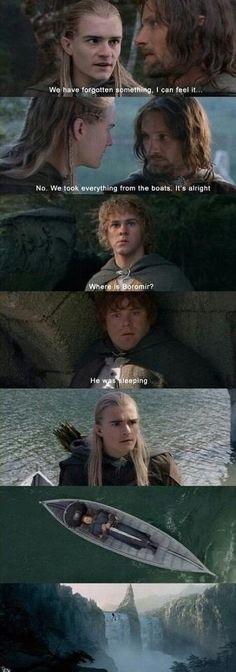 Poor Boromir!