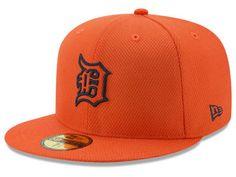 timeless design eea62 1ceee Detroit Tigers New Era MLB Batting Practice Diamond Era 59FIFTY Cap