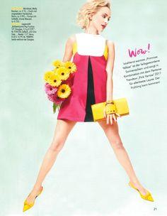 Molly Bracken - Magazine Douglas - Spring Summer 2017 #dress #fashion #douglas
