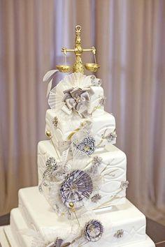 Grace Ormonde Silver Wedding Cake