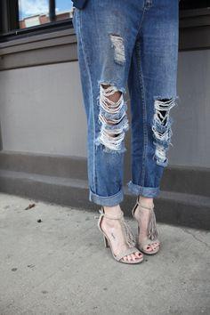Fringe Sandals from Target | Stile.Foto.Cibo