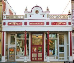 Eureka Books, Eureka, California | 10 Beautiful Bookshops That Will Stop You In Your Tracks. http://huff.to/1Ch1d9A