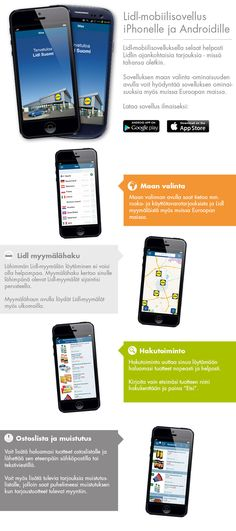 Lidl mobiilisovellus - Lidl