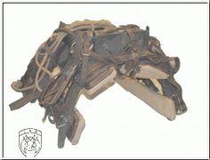 Swiss Army - Orginal - Bastsattel Holz - komplett - #03