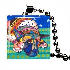 AKITA Pendant Necklace Art Dog Lover Gift Jewelry Abstract Angel