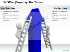 1013 3D Men Competing for Success Ppt Graphics Icons Powerpoint #Powerpoint #Templates #Infographics