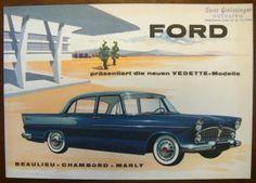 Oldtimer Ford Vedette Modelle