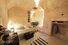 These Airbnbs Will Blow Your Mind (Not Your Budget) #refinery29  http://www.refinery29.uk/best-airbnb-crazy-rentals#slide-6  Amboise Troglodyte, Nazelles-Négron, FranceCharming and rustic, this perfectly French abode — near the one-time home of Leonardo da Vinci — will transport you to another time with its cave-like structure, period furniture, and open-plan bathroom. £59/night...
