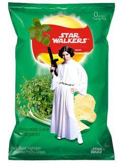 Star Wars crisps