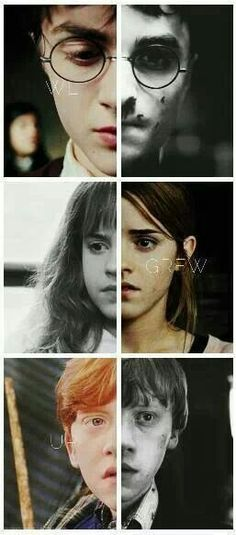 The Golden Trio. I see the change in their eyes, and it makes me proud and hopeful and sad at the same time.