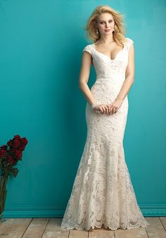 Allure Bridals love this lace!