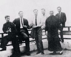 SWK Ip Man - Group (Chiu Van, Yip Bo Ching, Ho Huen, Ip Ching, Ip Man, Ip Chun) 1964