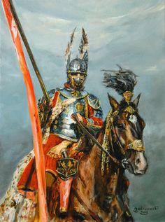 Znalezione obrazy dla zapytania mariusz kozik - husaria Warhammer Fantasy Roleplay, World Of Darkness, Knight Armor, Historical Art, Modern Warfare, Military Art, Dark Fantasy, Fiction, Cool Art