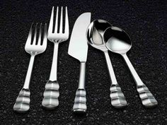 Michael Wainwright Truro 5 Pc Place Setting  http://www.thebowlcompany.com/products/Michael-Wainwright-Truro-5-Pc-Place-Setting/164484