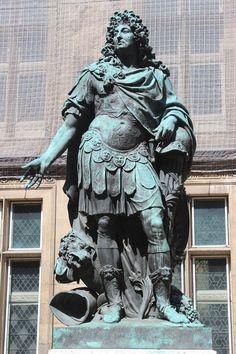 Statue of Louis XIV in Paris, Hôtel Carnavalet - Paris 3e