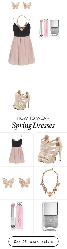 """""""Untitled #518"""" by feral-heart on Polyvore featuring Rare London, Kate Spade and Christian Dior"""