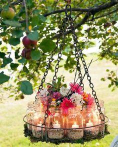 Stylish garden chandelier Ideas (1)
