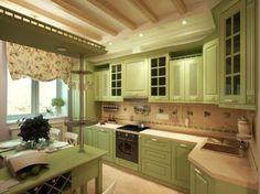 кухня в стиле кантри прованс - Поиск в Google
