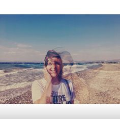 On the beach - Guzelcamli