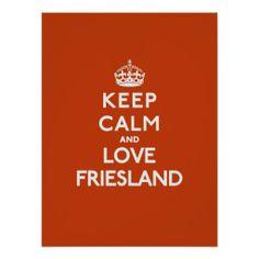 Keep calm, Friesland