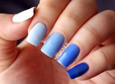 Creative Blue Nail Art Designs