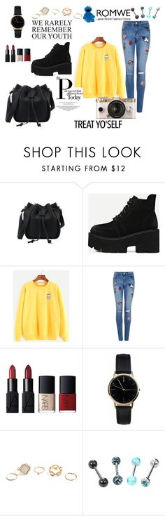 """""""Brighten your Date"""" by tainted-scars ❤ liked on Polyvore featuring NARS Cosmetics, Freedom To Exist, GUESS and Urban Outfitters"""