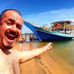 Foz do São Francisco, Alagoas com Sergipe.