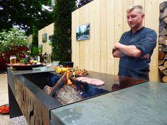Gasgrill In Outdoor Küche Integrieren : Die 39 besten bilder von outdoor küchen bakken fire und grilling