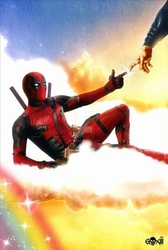 #Deadpool #Fan #Art. (DeadPool Poster) By: GOXIII. ÅWESOMENESS!!!™ ÅÅÅ+