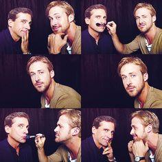 Looove Steve Carrell and Ryan Gosling
