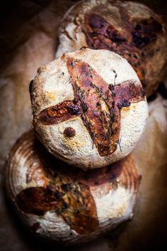 Rozemarijn lavendel brood