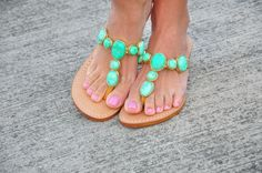 """@mystique sandales """"Jewelry for your feet"""""""