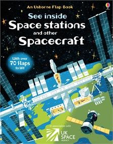 """""""See inside space stations and other spacecraft"""" at Usborne Children's Books Bedtime Reading, Find A Book, Mission To Mars, Information Age, Weather And Climate, Engin, Space Race, International Space Station, World Religions"""