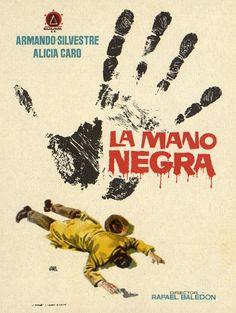 171.  JANO. La mano negra. Dirigida por Rafael Baledón Valencia: Mirabet, [1956]. #ProgramasdeMano #BbtkULL #Diseñadores #Jano #DiadelLibro2014