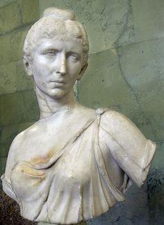 Cornelia Salonina, Augusta, wife of Gallienus, ca. 250-260, State Hermitage Museum, St. Petersburg,   1787  (Photo: George Shuklin, 2007, Wikipedia)