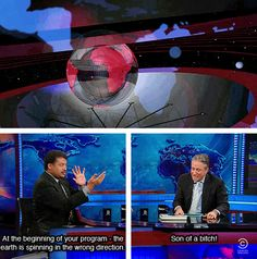 The Daily Show with Jon Stewart.