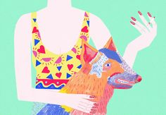 Bold and bright illustrations from Ellie Andrews