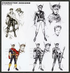 The Asgardian aka Wiccan (Billy Kaplan) Character Designs by Jim Cheung Character Modeling, Comic Character, Character Concept, Concept Art, Comic Book Artists, Comic Books Art, Comic Art, Marvel Comics, Marvel Heroes