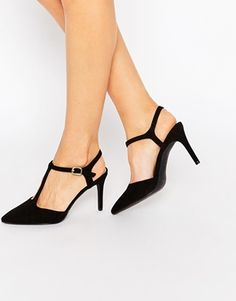 New Look Cut Out Pointed Heel