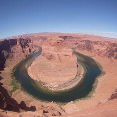 Horseshoe bend Gopro, Arizona, Colorado, Sky, Landscape, Water, Instagram Posts, Pictures, Travel