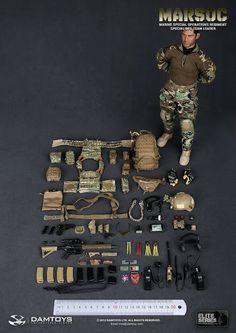 onesixthscalepictures: DAM Toys MARSOC (Marine Special Operations Regiment Special Ops) Team Leader : Latest product news for 1/6 scale figures (12 inch collectibles) from Sideshows Collectibles, Hot Toys, Medicom, TTL, Triad Toys, Enterbay and others.