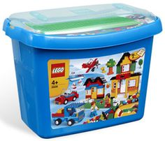 LEGO Bricks and More 5508 City Town Creative Deluxe Brick Box NEW Factory Sealed $103.75