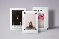 3 Postcard Flyers Editorial Style / Modern Fashion Stationery / Editorial Design / Set of Magazine Flyer Templates by Nonola on Creative Market Postcard Layout, Postcard Template, Postcard Design, Flyer Template, Editorial Design Magazine, Editorial Layout, Editorial Fashion, Web Design, Layout Design