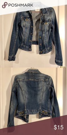 H&M Denim Jacket Classic H&M denim jacket - perfect with sundresses! H&M Jackets & Coats Jean Jackets