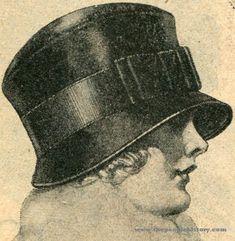 1920s Tailored Cloche Hat 1923