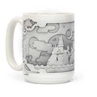Hogwarts Cut Paper Mug
