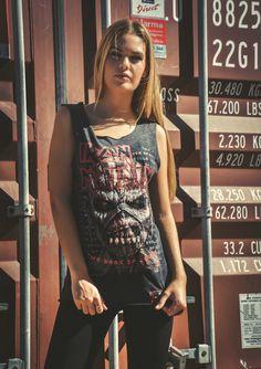 ★★ BLACK PREMIUM BY EMP SIGNATURE COLLECTION★★ #ironmaiden #heavymetal #bandshirt #rockeras #metalgirls #concert #bandtshirts #metalmusic #metalfashion #rockfashion